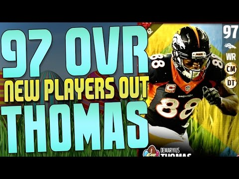TONS OF NEW EASTER PLAYERS INCLUDING A NEW 97 OVERALL DEMARYIUS THOMAS!