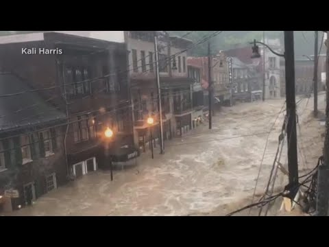 Flash flooding hits Ellicott City, Maryland