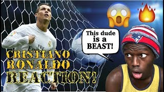 FIRST TIME REACTION - Cristiano Ronaldo ● The Man Who Can Do Everything |HD| Reaction