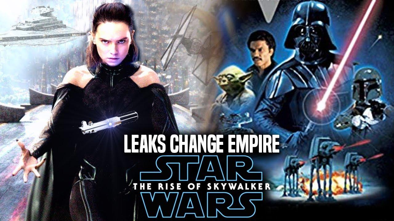 The Rise Of Skywalker Leaks Change Empire Strikes Back Star Wars Episode 9 Youtube