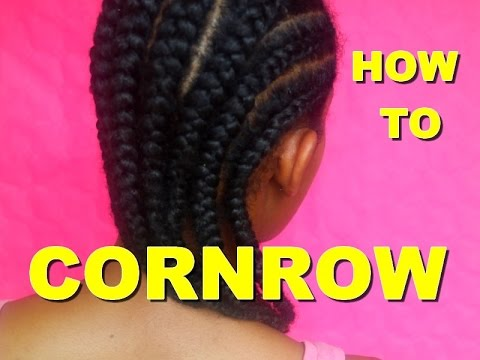 how to make cornrows in your hair