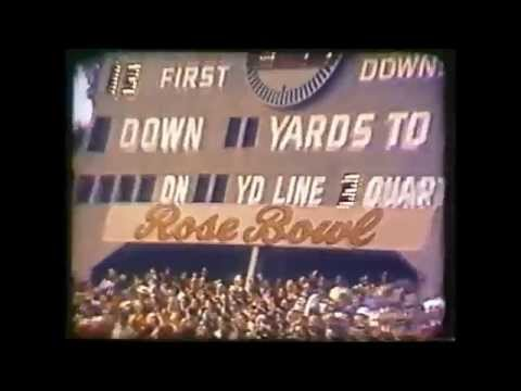 1971 Rose Bowl   Stanford 27, Ohio State 17