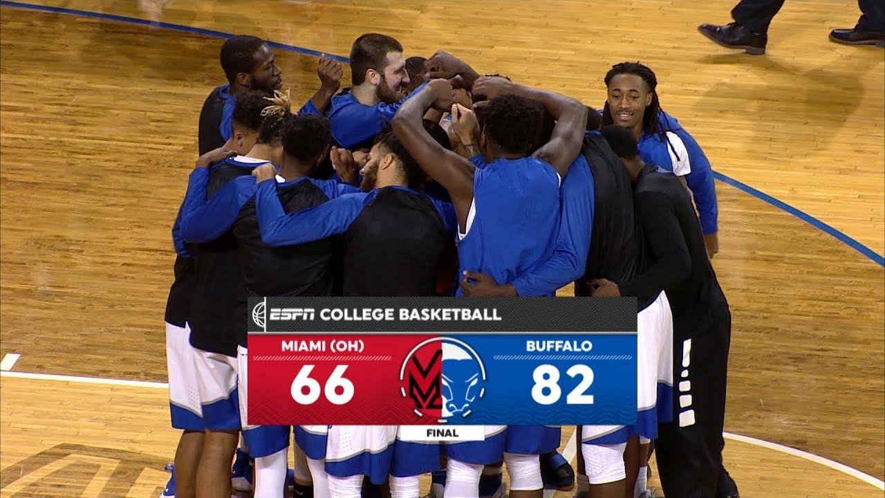 UB Men's Basketball vs Miami (OH) Post Game Recap - YouTube