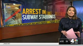Subway Stabbing Spree: Suspect in Attacks Arrested by NYPD