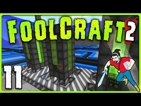 FOOLCRAFT 2 | Ep 11 | WHO LIVES IN A... 🍍 || Minecraft Modded