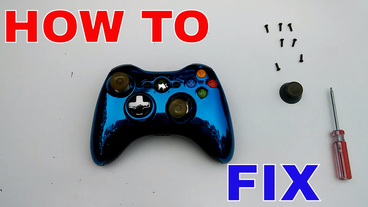 How To FIX: XBOX 360 CONTROLLER (Analog Stick)