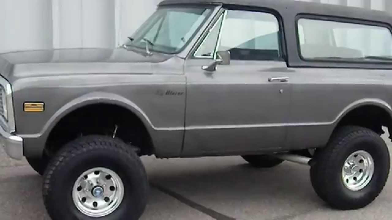Blazer 1972 chevy k5 blazer : 1972 Chevrolet K5 Blazer 4x4 Restored Lifted Truck - YouTube