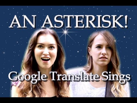 "Google Translate Sings: ""When You Wish Upon a Star"" from Pinocchio"