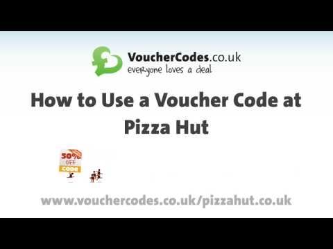 Pizza Hut Vouchers - Learn How To Use A Pizza Hut Voucher With VoucherCodes.co.uk