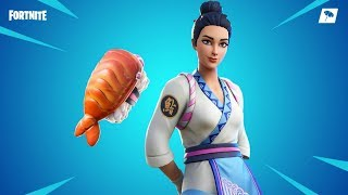 Fortnite Item Shop: FEMALE SUSHI MASTER SKIN