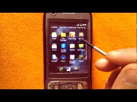 Android Gingerbread 2.3.5 CM7 for HTC TyTN II (HTC Kaiser)