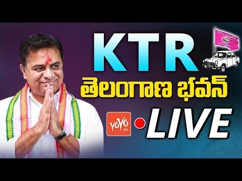 KTR LIVE | KTR Press Meet Live From Telangana Bhavan | TRS LIVE | CM KCR | YOYO TV Channel