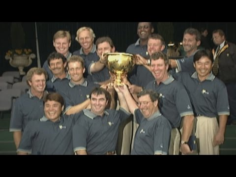 History in the Making: 1998 Presidents Cup