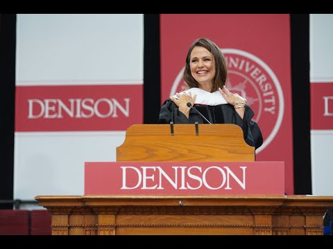 Denison University Commencement 2019 | Jennifer Garner '94 ...