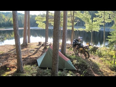 600 km Off-Road Motorcycle Tour in Northern Ontario