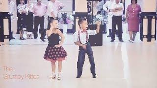 TALENTED KIDS BALLROOM DANCING
