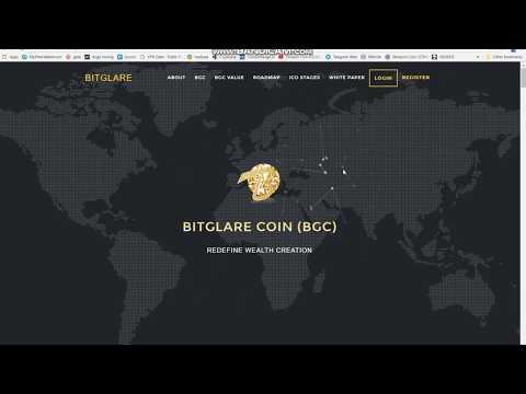 BitGlare Coin BGC Lending ICO Review & Strategy Ongoing ICO 7X Lending Platform + $50 FREE