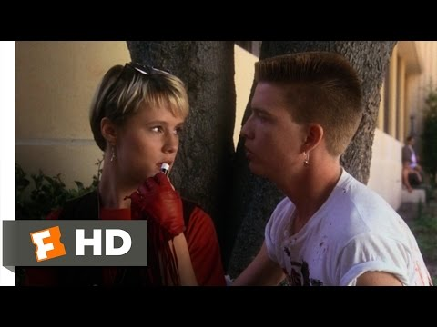 Some Kind Of Wonderful (1/6) Movie CLIP - Radiating Sexual Vibes (1987) HD