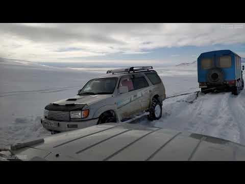 Добираемся из города Анадырь в село Лорино. Чукотский район. Дальний Восток. Арктика. Зимник.