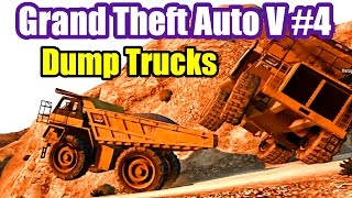 GTA 5 Online Grand Theft Auto V PS3 #4 HVY DUMP TRUCKS