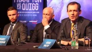 FIERY & HOT-BLOODED! - CARL FRAMPTON v SCOTT QUIGG - FULL & UNCUT BELFAST PRESS CONFERENCE