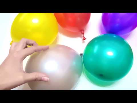 Thumbnail: Baby Balloon Song for Learning Colors with Finger Family Nursery Rhymes