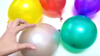 Baby Balloon Song for Learning Colors with Kids Rhymes
