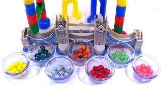 Learn Colors with a Marble Maze