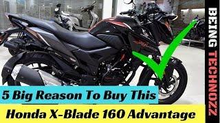 2018 Honda X-Blade 160    5 Big Reason To Buy This Bike    Advantage    Don