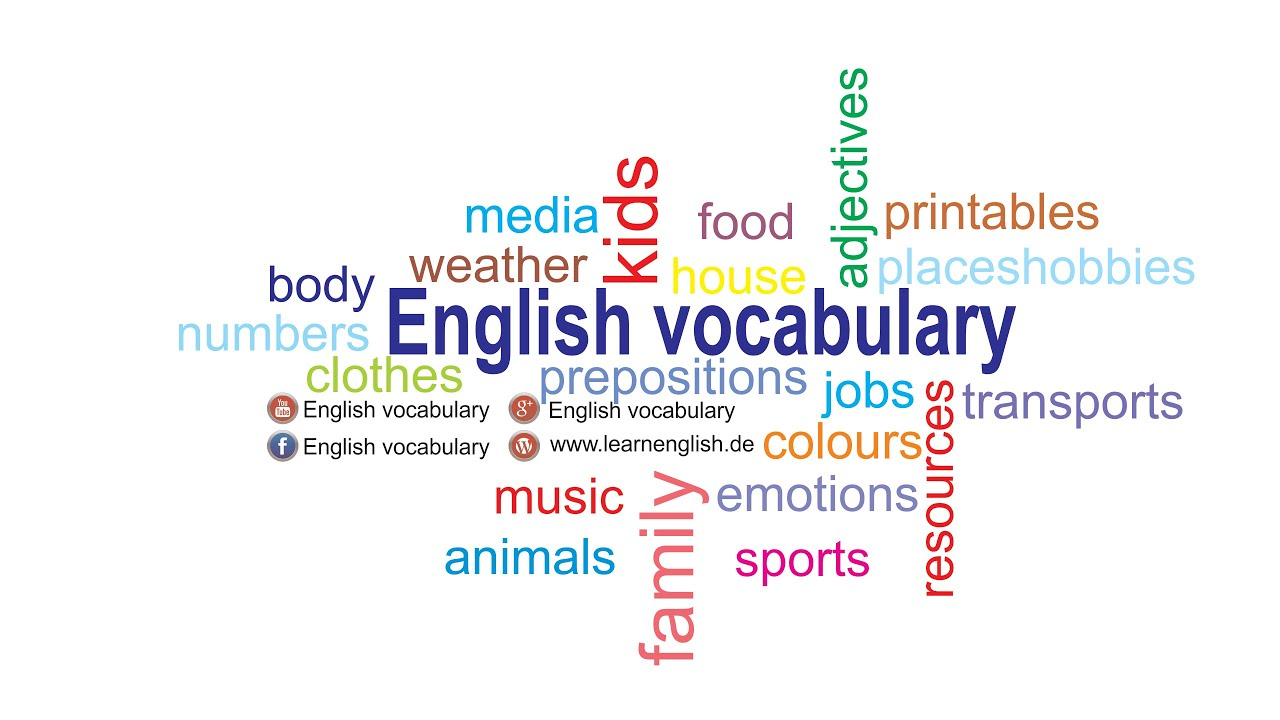 english vocabe The vocabulary of vocabulary for many people, the word vocabulary is primarily associated with the number of words that a person knows one either has a large or a small vocabulary but the word has many shades of meaning and is nicely representative of the nuanced and multi-hued nature of so much of the english lexicon.