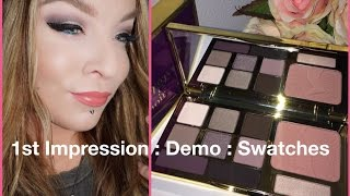 1st Impression : Demo : Swatches : Tarte Energy Noir Clay Palette for Fall 2015