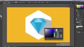 flat diamond in illustrator tutorial