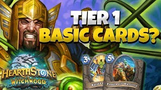 THESE BASIC CARDS ARE ACTUALLY GOOD IN A TIER 1 DECK - ODD PALADIN COMMENTARY