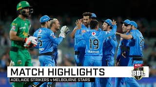 Strikers conquer ladder-leading Stars, rise to second | KFC BBL|09