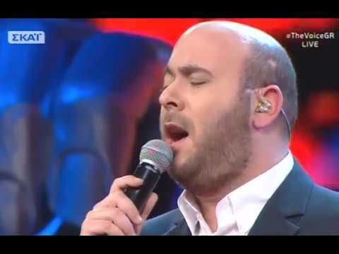 """Γιώργος Καρέλης: """"Παραπονεμένα λόγια""""  2o    The Voice of Greece"""