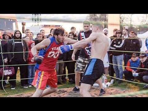 Бой двух настоящих воинов в ринге !!