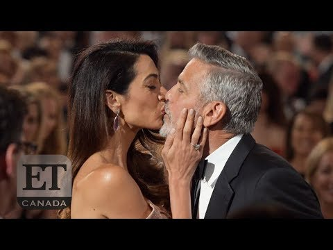 George And Amal Clooney At AFI Tribute