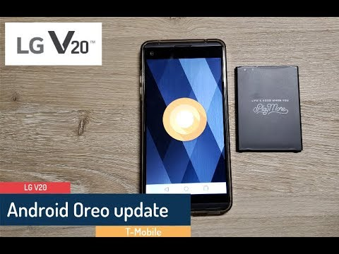 Android 8 0 Oreo update for the T-Mobile LG V20 - Finally!
