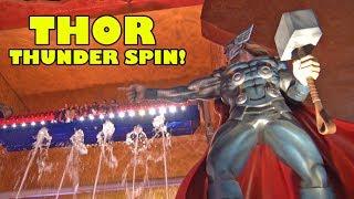 Thor Thunder Spin Ride POV IMG Worlds of Adventure Dubai Marvel Avengers