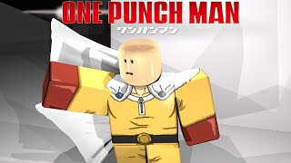 I Became Saitama in Roblox OPM Game