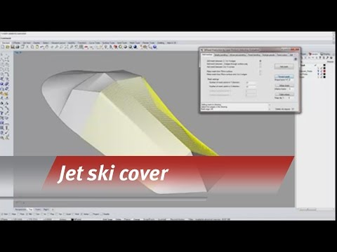 Templating a jet ski