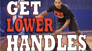 how to get lower handles   warm up dribbling drill   pro training basketball