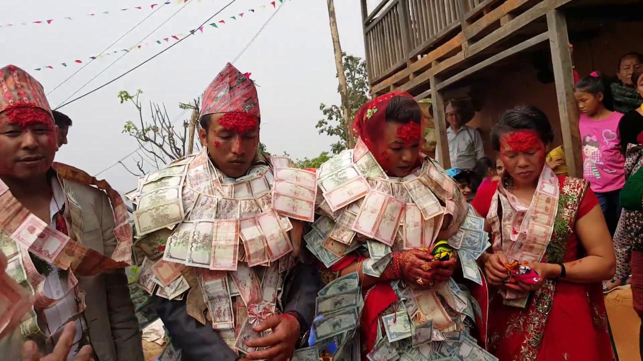 Nepali Wedding Typical Magar Culture  - Youtube-5632