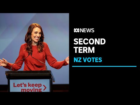 Jacinda Ardern's Labour Party wins New Zealand general election in landslide | ABC News