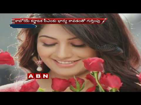 JDS Leader Kumaraswamy's Wife Radhika Kumaraswamy is Trending on Social Media   ABN Telugu thumbnail