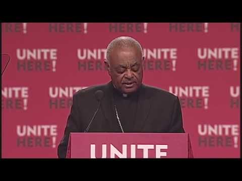 Wilton Gregory Opens UNITE HERE Convention