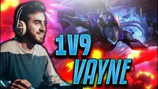 HAYATIMIN EN SAÇMA OYUNU - 1v9 Vayne Gameplay