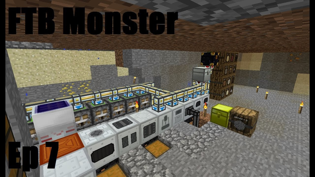 Download Feed The Beast Monster Ep 7 Sorting System