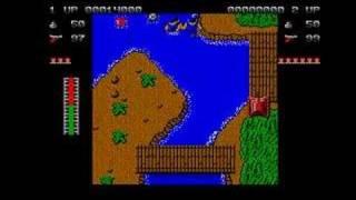 Ikari warriors gameplay video (atari st)