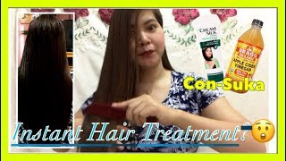 CON-SUKA, INSTANT HAIR TREATMENT? | Simply Mhyles😊💕